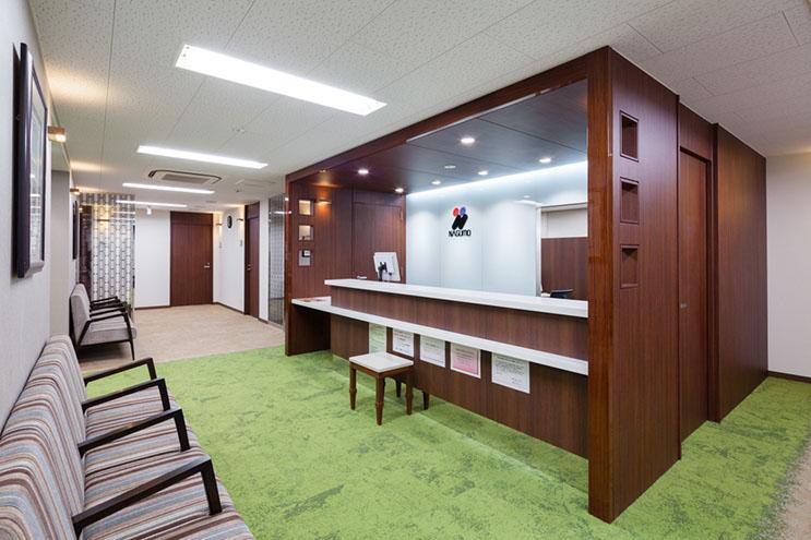 2014東京院受付ロビー